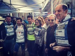 stramilano 2016 foto vip politici autorita michele ficara14 300x225 - La stramilano 2016 dei record: 63.000 runners