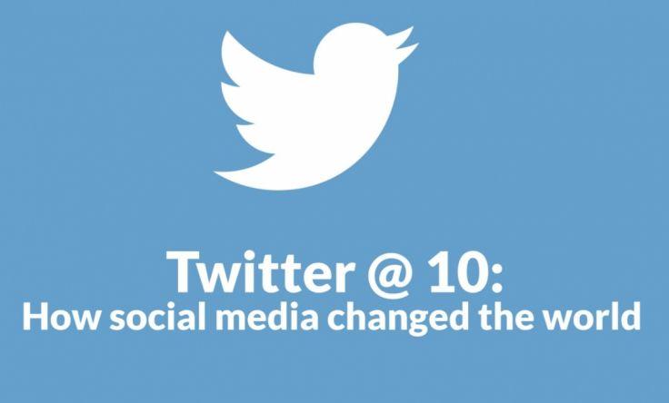 twitter 10 - Twitter compie 10 anni