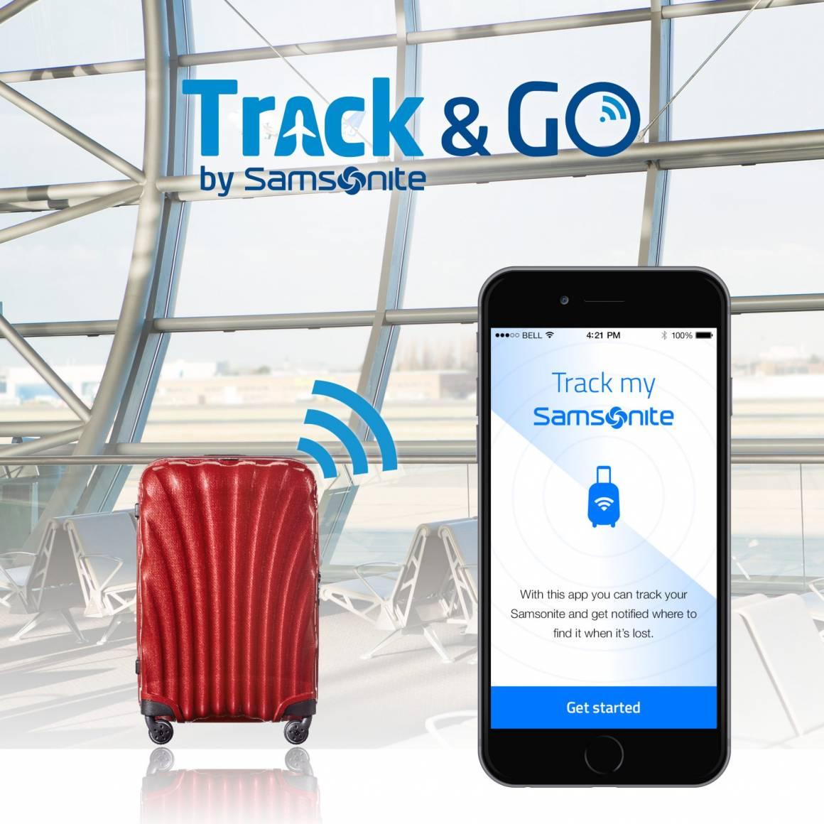 Come trovare il bagaglio smarrito con Samsonite TrackGo 1160x1160 - Come trovare il bagaglio smarrito con Samsonite Track&Go