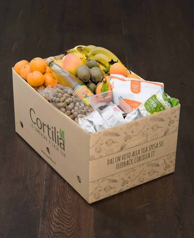 Cortilia Cassetta Ufficio - 5 consigli: come mangiare in ufficio intelligentemente con Cortilia