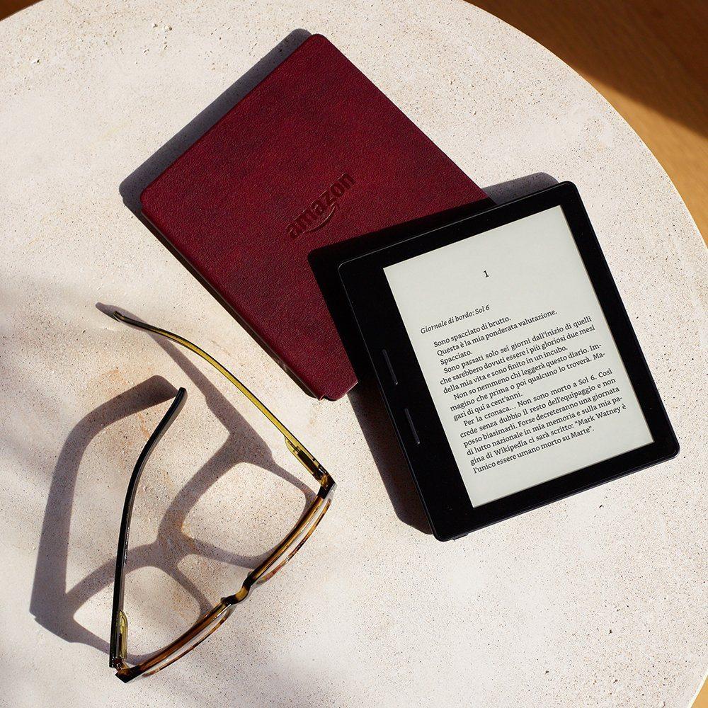Kindle Oasis nuovo leggero di sempre - Kindle Oasis: nuovo e più leggero di sempre