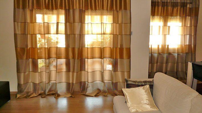 Migliori tende per la casa guida agli acquisti scontati for Tende beige e marrone