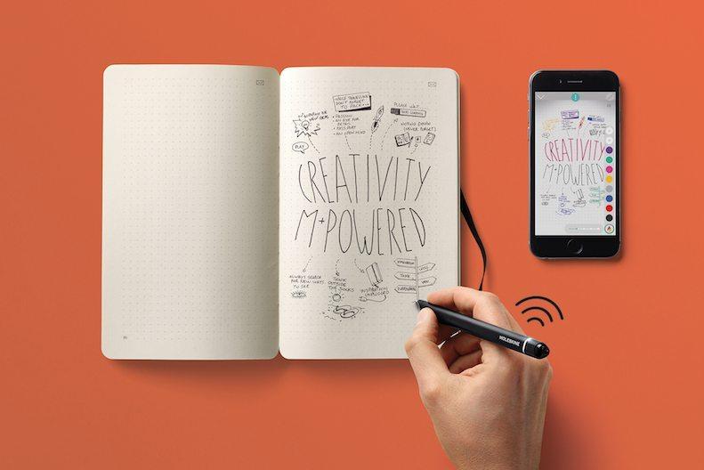 Moleskine creativity SWS - Come digitalizzare note e scritti con Moleskine Smart Writing Set