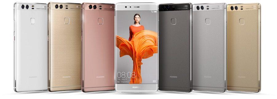 Smartphone con doppia telecamera Huawei lancia P9 e P9 plus - Sul Huawei P9 l'aggiornamento Android 7 Nougat e interfaccia EMUI 5.1. Tutte le novità