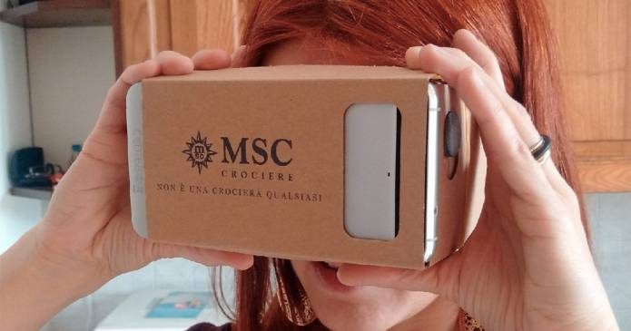 Concorso in realtà immersiva: MSC Crociere fa vincere Smartphone Samsung