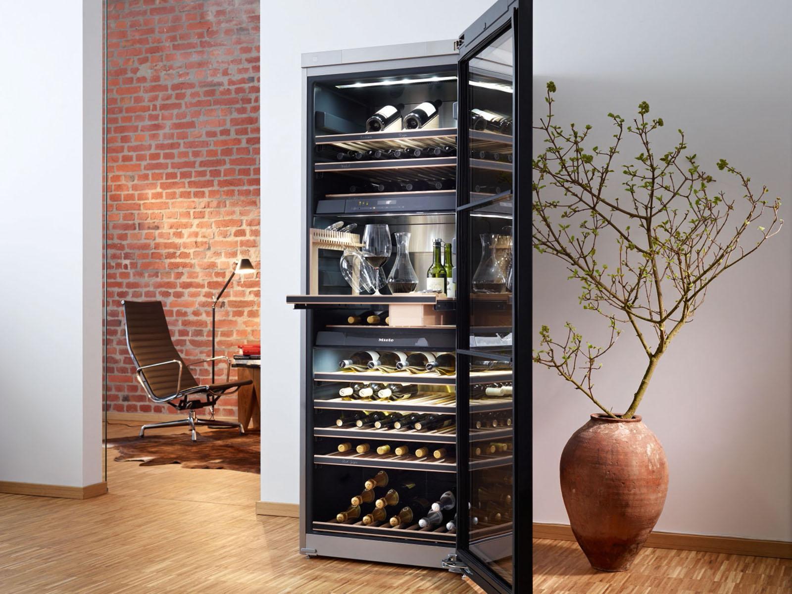 ▷ Migliori cantinette vino per la casa: classifica e consigli. -