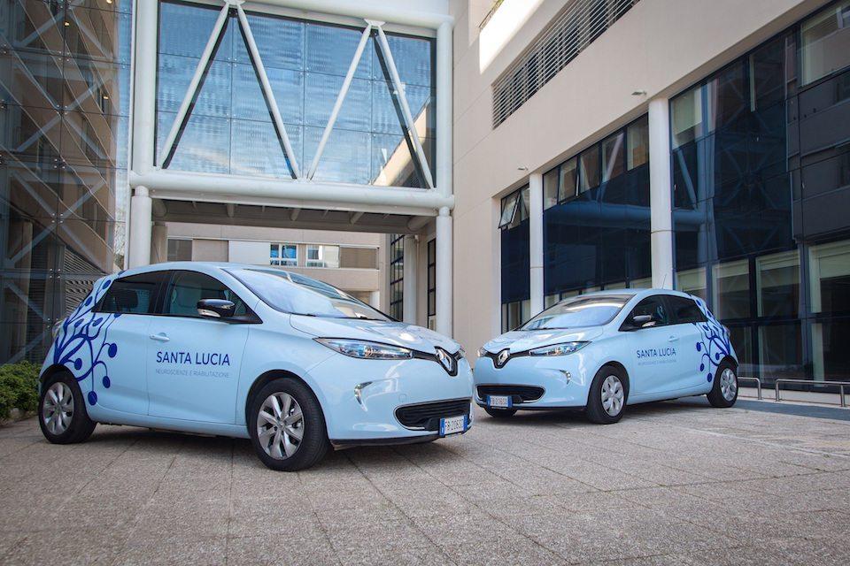 Renault ZOE arriva alla Fondazione Santa Lucia IRCCS  - Renault ZOE arriva alla Fondazione Santa Lucia IRCCS