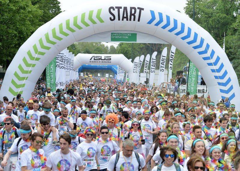 The Color Run: a torino presenza record di 20.000 runners