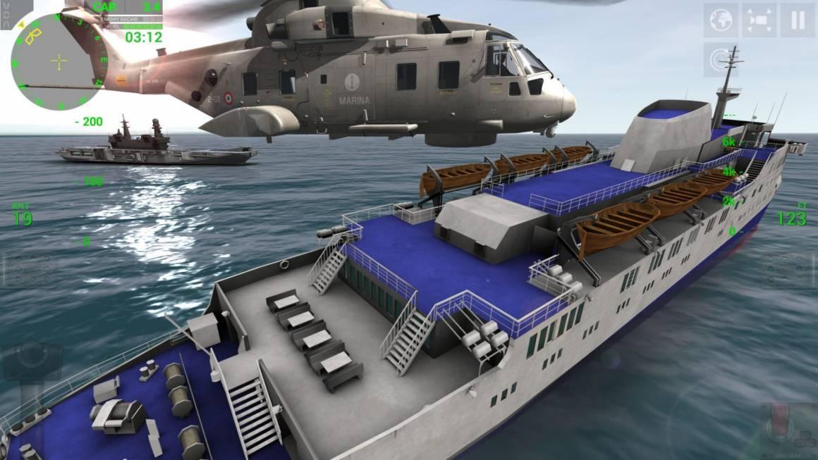 3 EH101 NAVE Marina Militare 1 1160x653 - RORTOS: la più bella simulazione aeronavale. Gratis.