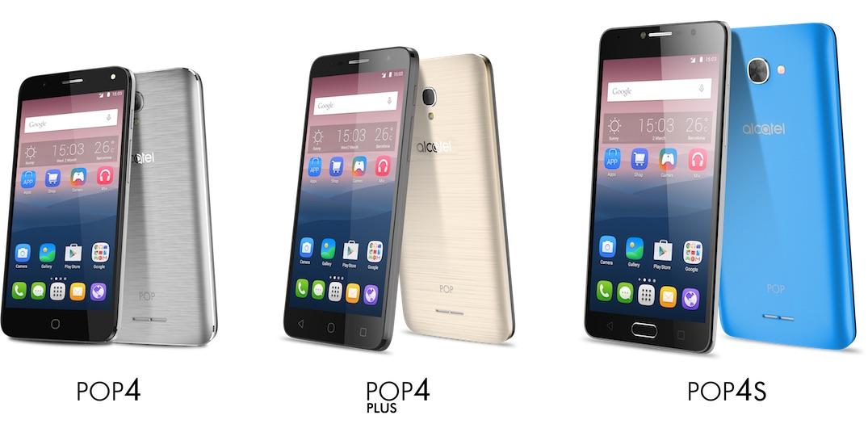 Alcatel serie POP 4 la gamma di smartphone su misura per i millennials - Alcatel serie POP 4 la gamma di smartphone su misura per i millennials