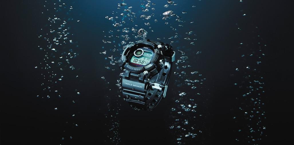 FROGMAN Casio G-SHOCK con profondimetro professionale