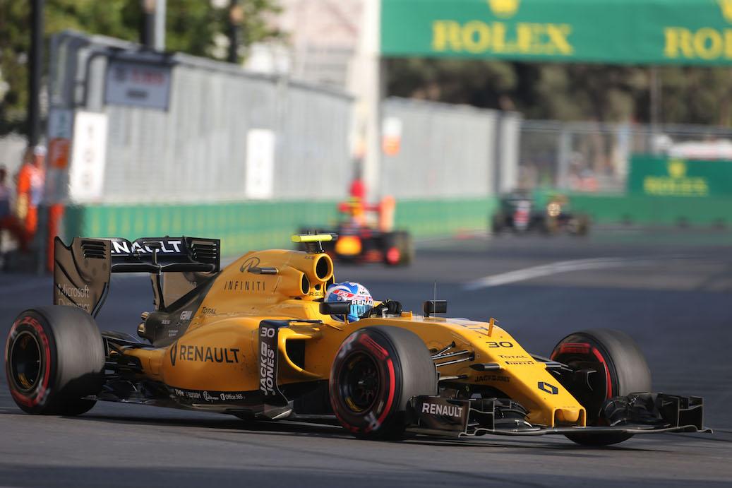 Formula 1 Gran Premio Europa 2016 Renault Sport Formula One Team - Formula 1 Gran Premio d'Europa 2016 Renault Sport Formula One Team