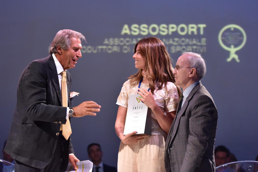 Brooks vince lo Sport Marketing Awards di Assosport