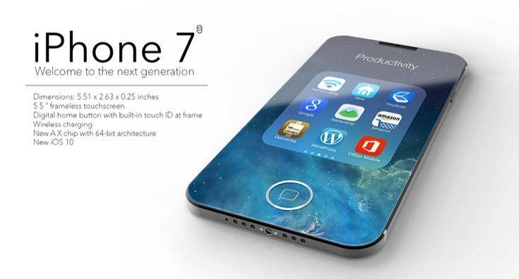 Nuovo Iphone7 niente più memoria da 16 GB - Nuovo Iphone7: niente più memoria da 16 GB