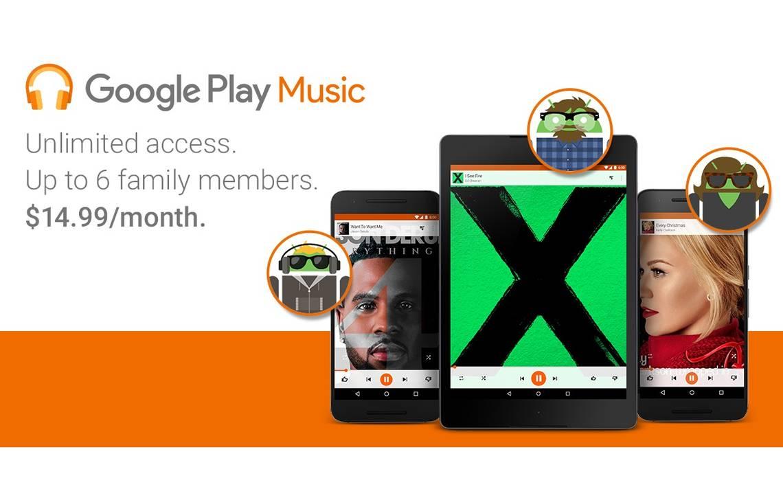 google play music family - Condividere in famiglia con Google Play ora é possibile.