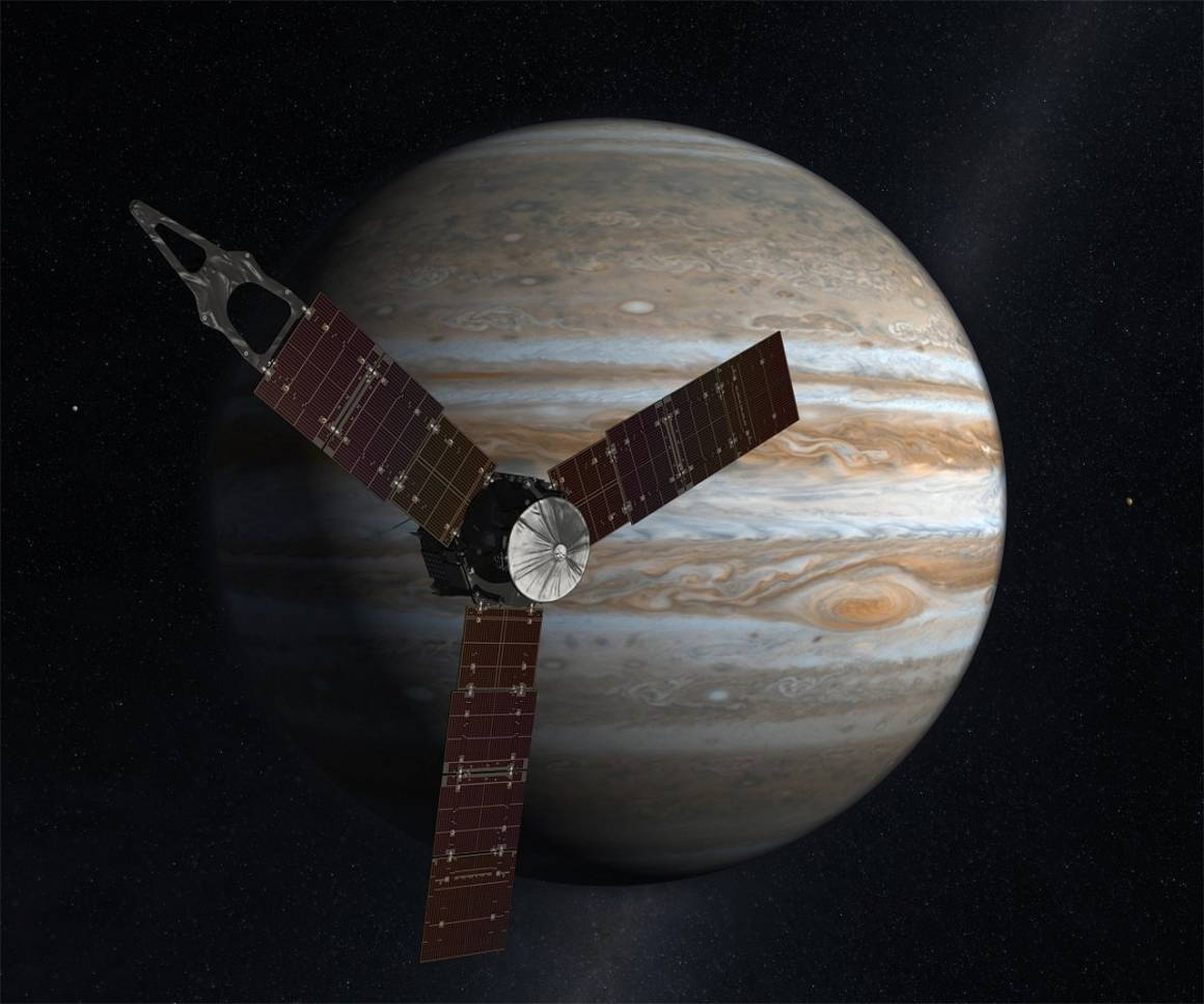 sonda juno 1467477971 1160x967 - Juno e Giove presto insieme: la sonda spaziale Juno sta per entrare nell'orbita del pianeta