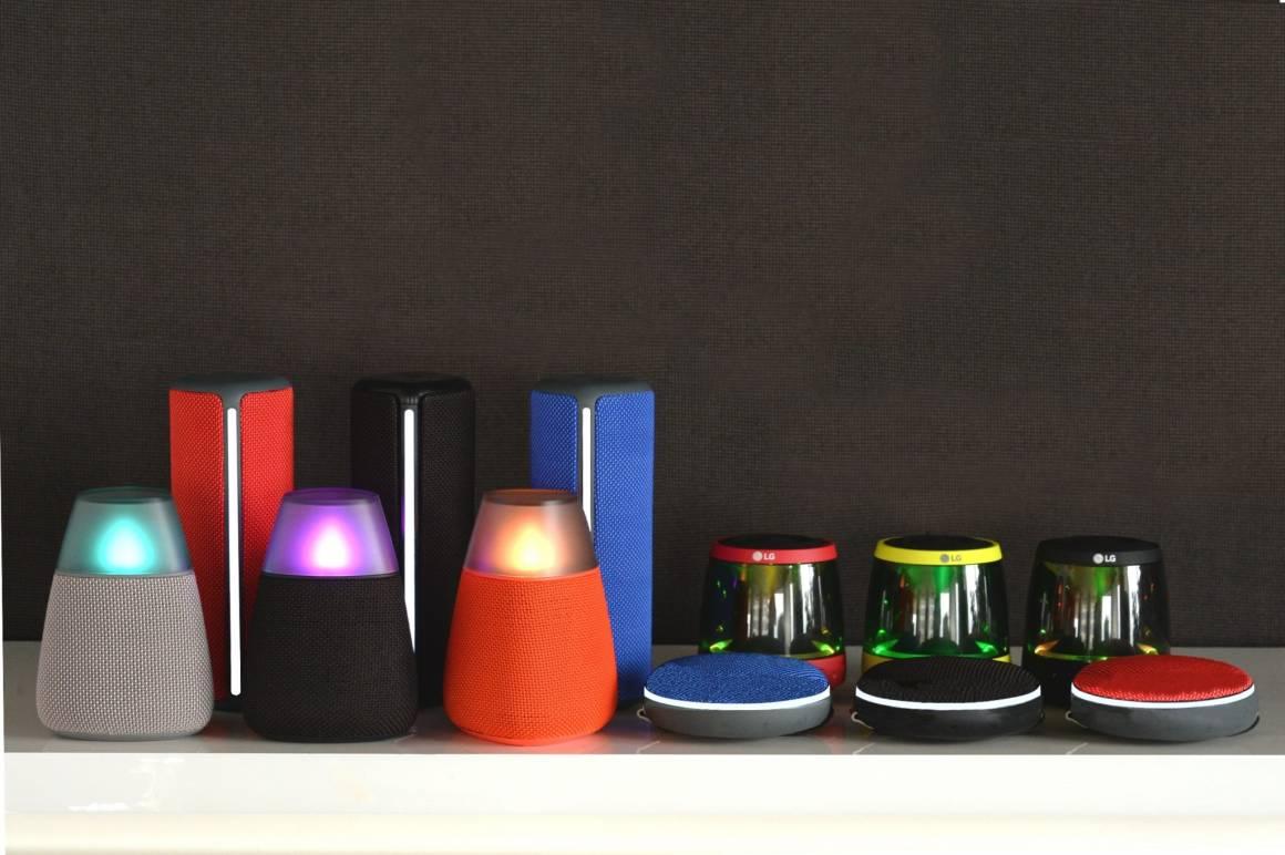 LGE Bluetooth Speakers 1160x772 - Trova il migliore suono con lo speaker BLUETOOTH DI LG