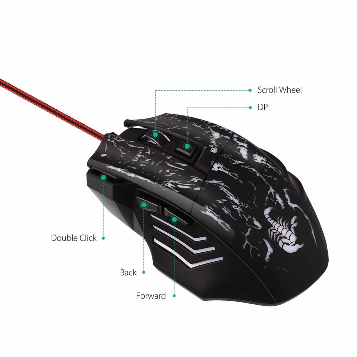 aukey mouse 1160x1160 - Aukey KM-C1: il mouse da gaming dal prezzo inferiore ai 10€