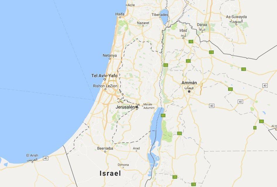 palestina - La bufala di Google Maps e la Palestina mai stata presente sulle mappe
