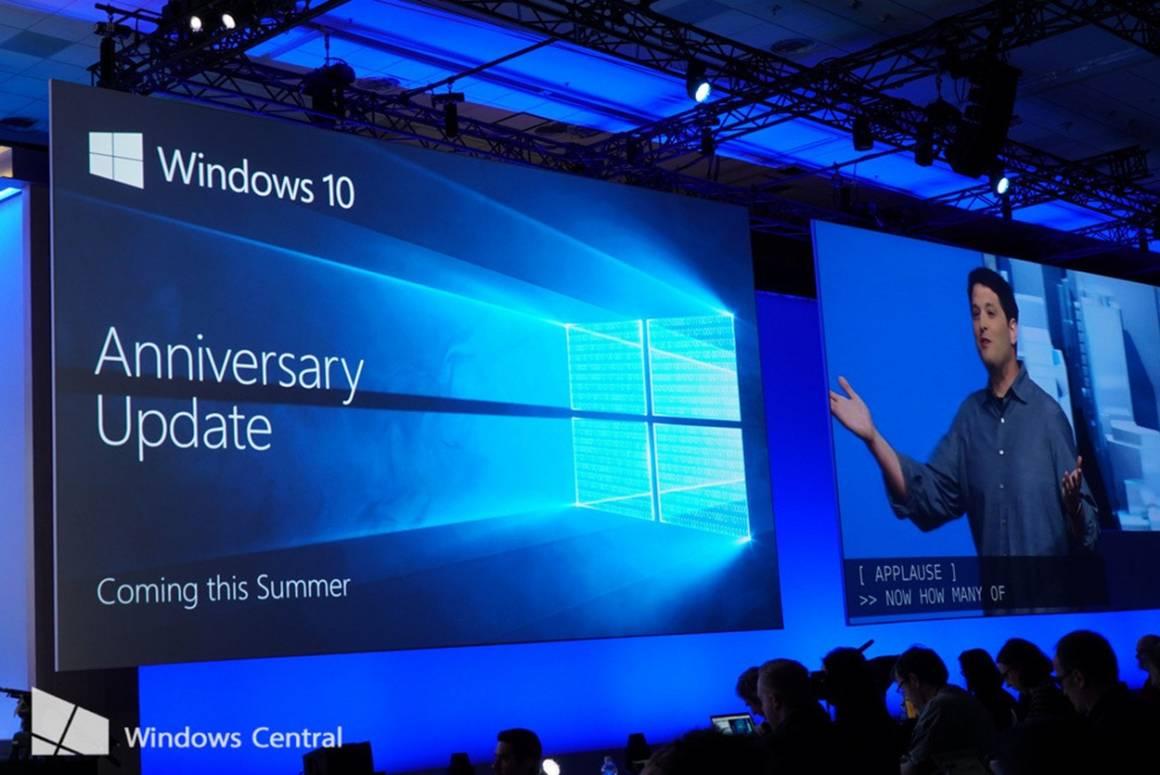 windows 10 1160x775 - Windows 10 Anniversary Update finalmente disponibile: ecco le novità