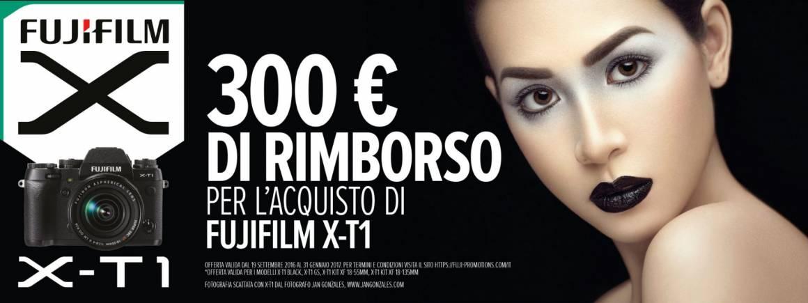 Nuovo cashback dedicato a Fujifilm X T1 1160x435 - Nuovo cashback dedicato a Fujifilm X-T1: ecco come risparmiare molti soldi