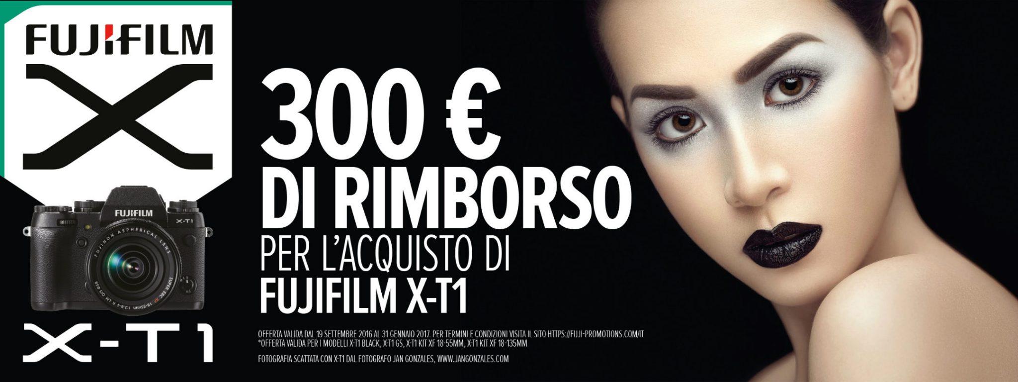 Nuovo cashback dedicato a Fujifilm X-T1: ecco come risparmiare molti soldi