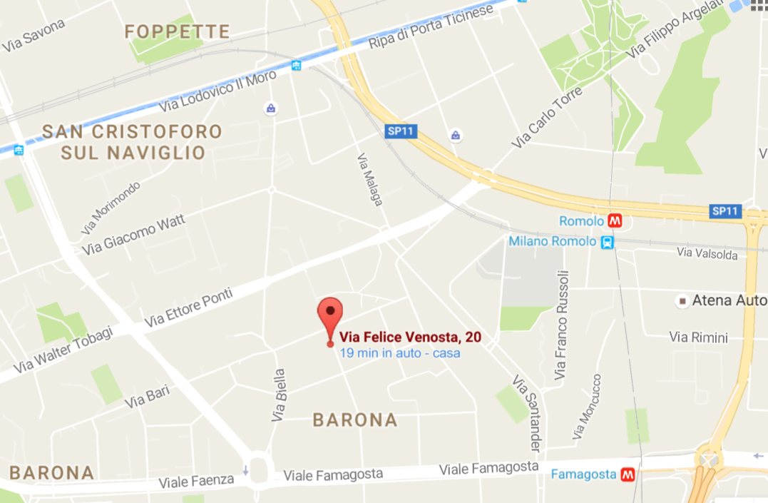 chrome 02/09/2016 , 13:58:46 Chrome Legacy Window Via Felice Venosta, 20 - Google Maps - Google Chrome