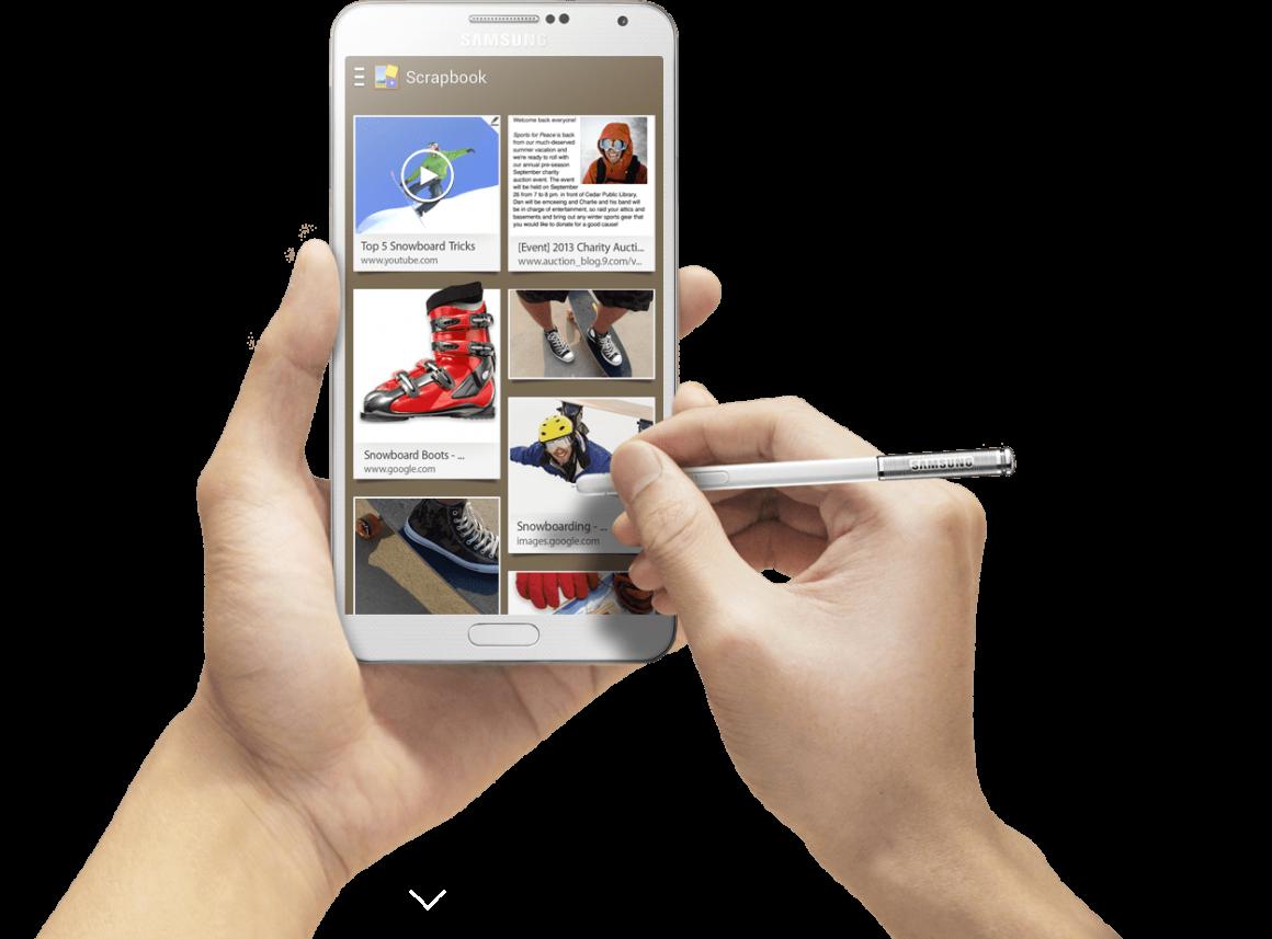 note s 1160x857 - Play Store ospita la nuova beta di S Note