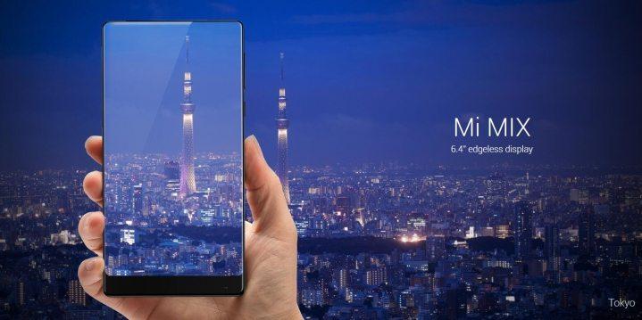 Xiaomi Mi Mix sfida Apple con uno smartphone senza cornice e altoparlante - Xiaomi Mi Mix sfida Apple con uno smartphone senza cornice e altoparlante