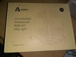 1 1 300x225 - Aukey LT-SS1: la striscia LED per Illuminare e colorare la stanza