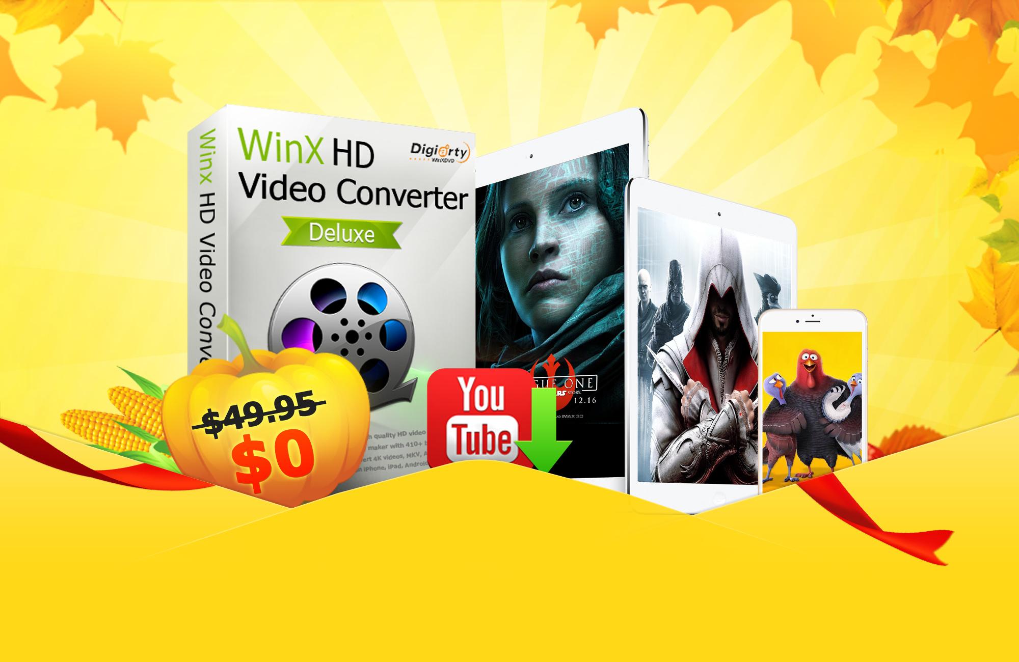 2000x1300 - Convertire qualsiasi video con WinX HD Video Converter Deluxe