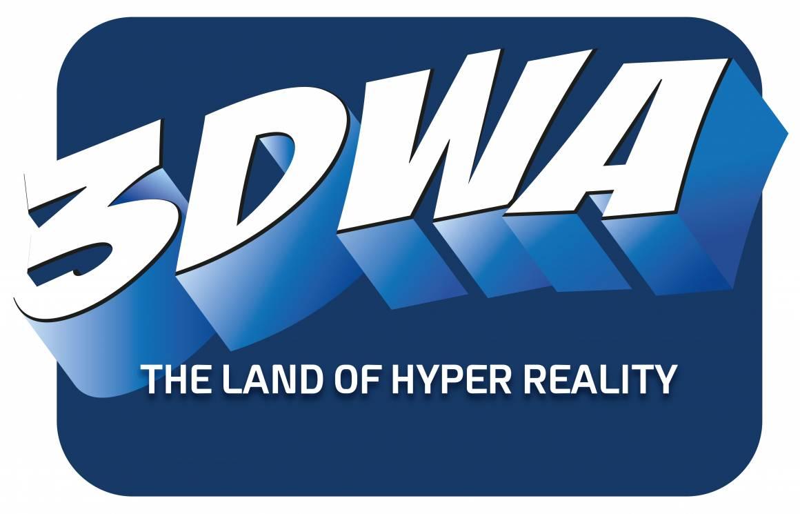 Logo 3DWA 1160x745 - Inaugura in Italia 3DWA: primo parco al mondo dedicato alla Hyper Reality