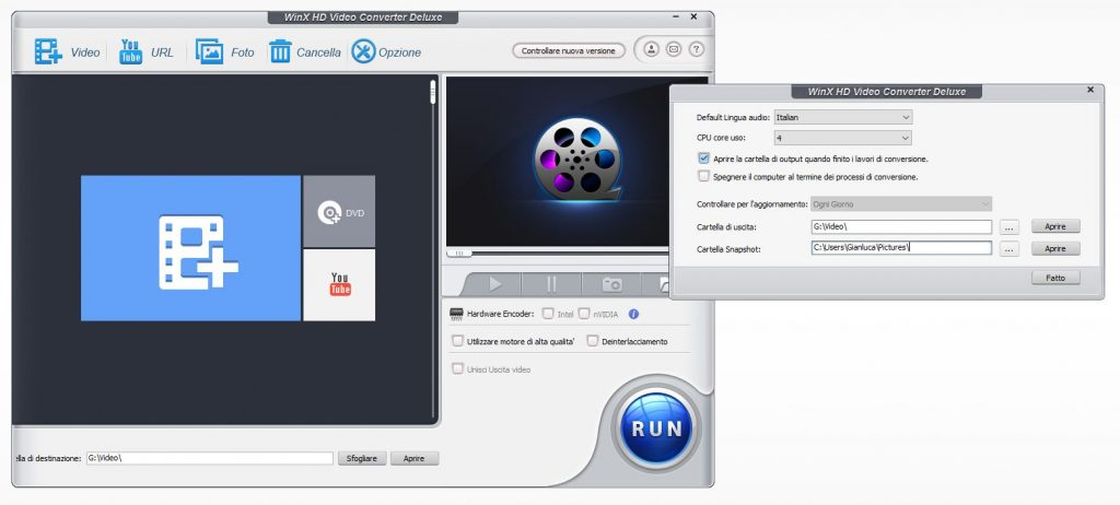 WinX HD Opzioni 1024x462 - Convertire qualsiasi video con WinX HD Video Converter Deluxe