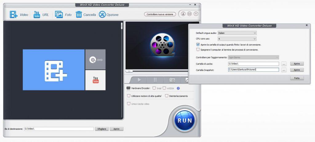 WinX HD Opzioni 1024x462 - Convertire qualsiasi video con WinX HD Video Converter Deluxe