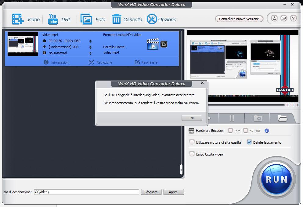 WinX HD traduzione - Convertire qualsiasi video con WinX HD Video Converter Deluxe