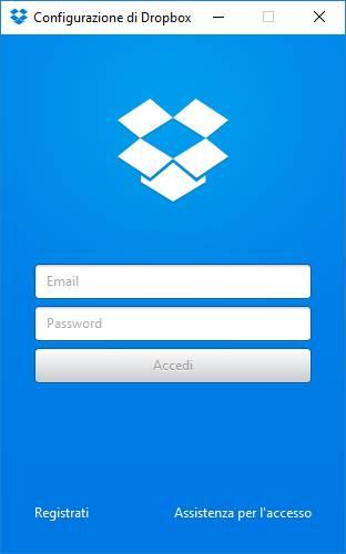 login - Come creare una cartella per Dropbox su un disco secondario