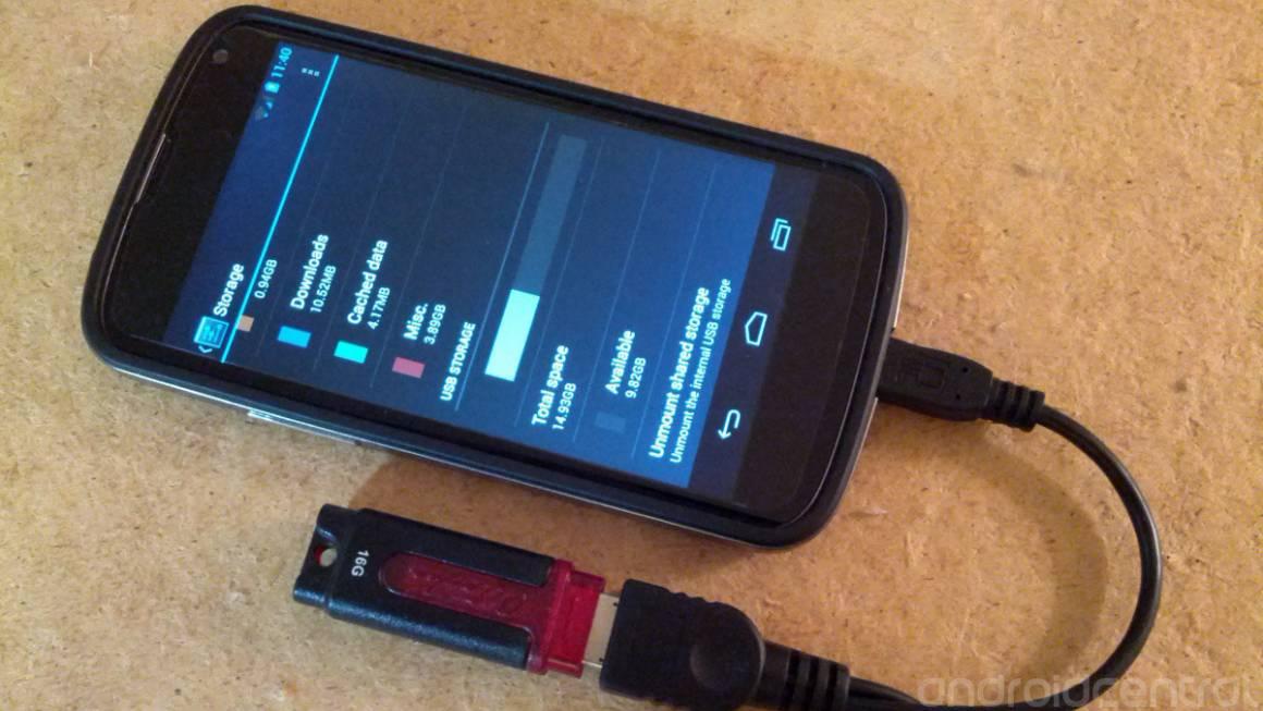 otg hero 0 1160x653 - Espandere la memoria su Android tramite una chiavetta USB e la connessione OTG