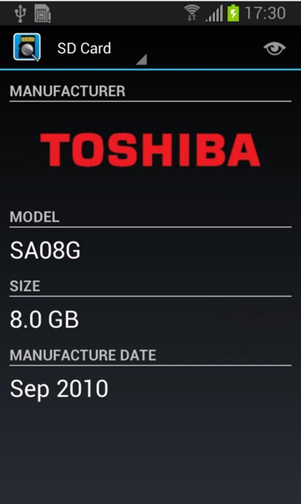 sd1 613x1024 - Come scoprire tutte le caratteristiche della nostra memoria microSD da Android