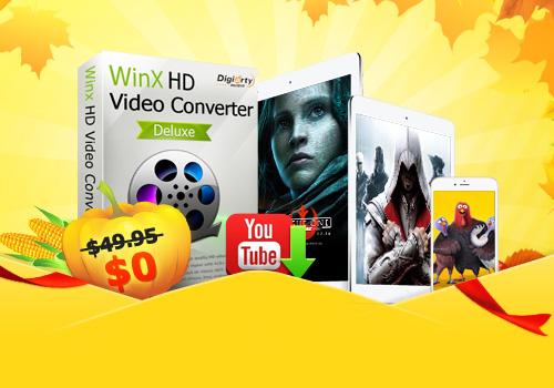 thanksgiving - Convertire qualsiasi video con WinX HD Video Converter Deluxe