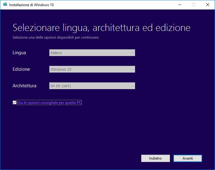 win103 - Creare una chiavetta di ripristino per Windows 10 con i dispositivi USB SanDisk