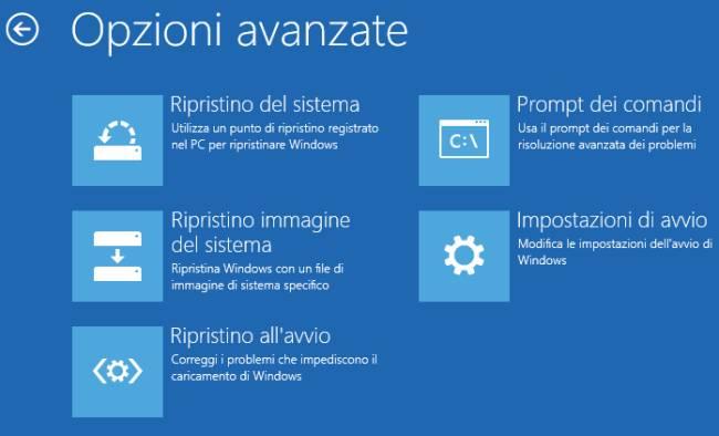 windows non si avvia 07 - Creare una chiavetta di ripristino per Windows 10 con i dispositivi USB SanDisk