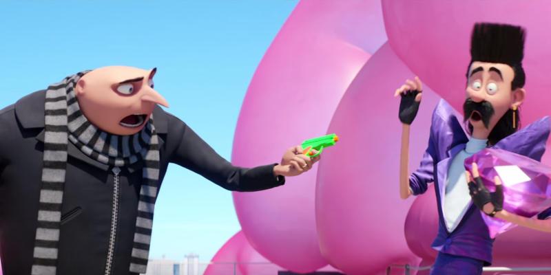 Despicable Me 3 01 - Prima clip per Cattivissimo me 3