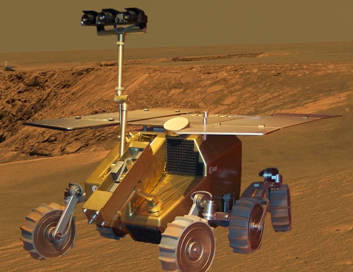 Exomars 1160x894 - Rover su Marte inaugura una mostra
