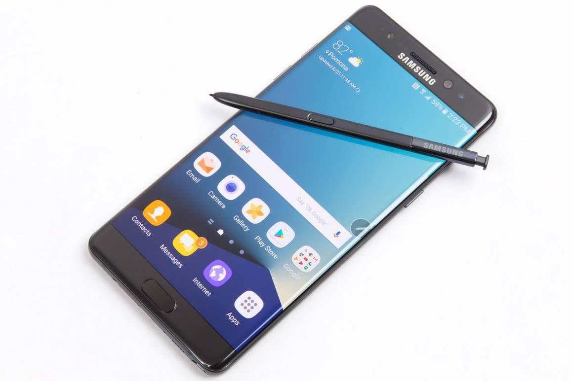 Galaxy Note 7 1160x773 - Galaxy Note 7 smetterà di ricaricare la batteria