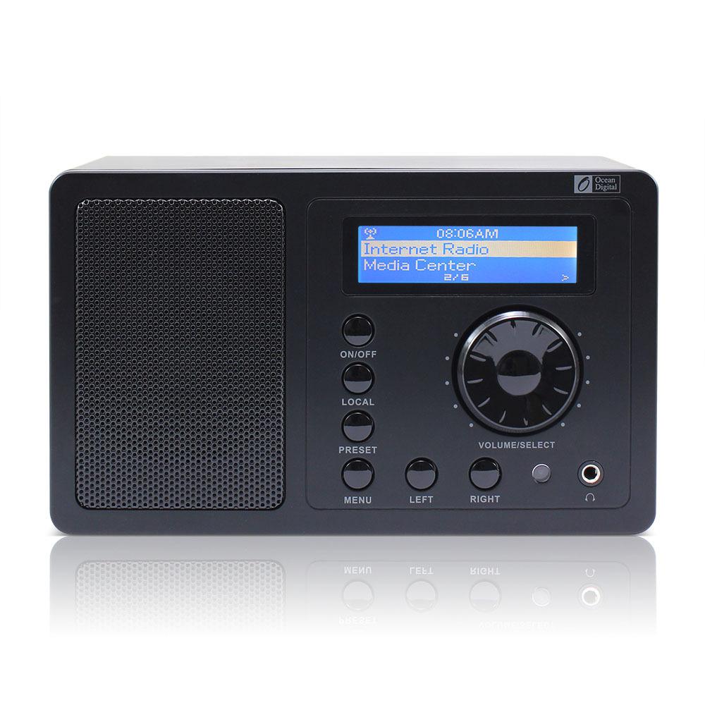 Ocean digital internet radio sveglia con sleep timer telecomando wifi connessione stazioni radio player - Ascoltare la musica di qualità con la radio digitale DAB Digital Audio Broadcast
