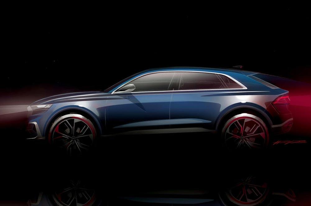 Presentato il concept di Audi Q8 in arrivo nel 2017