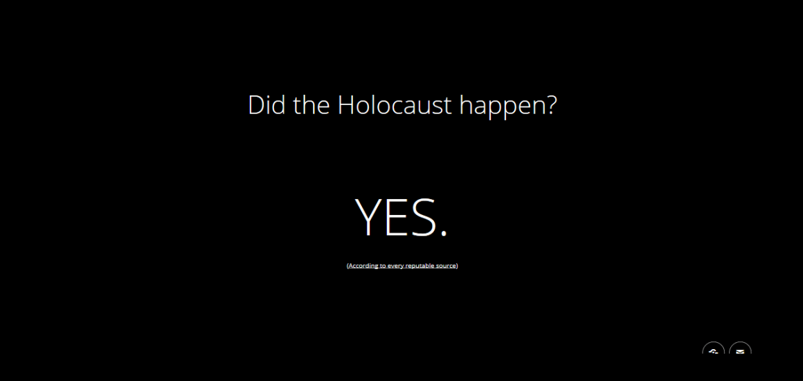 holocaust happen 1160x551 - Ecco come Google combatterá le notizie false