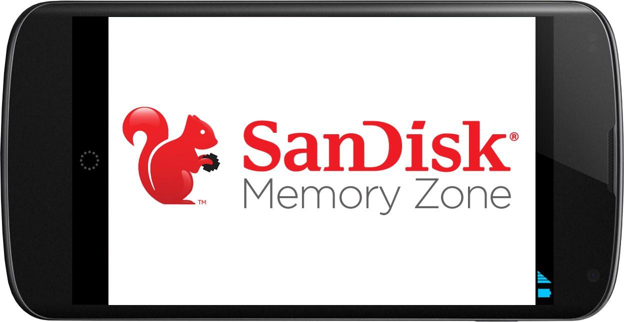 Eseguire backup automatici con l'app SanDisk Memory Zone
