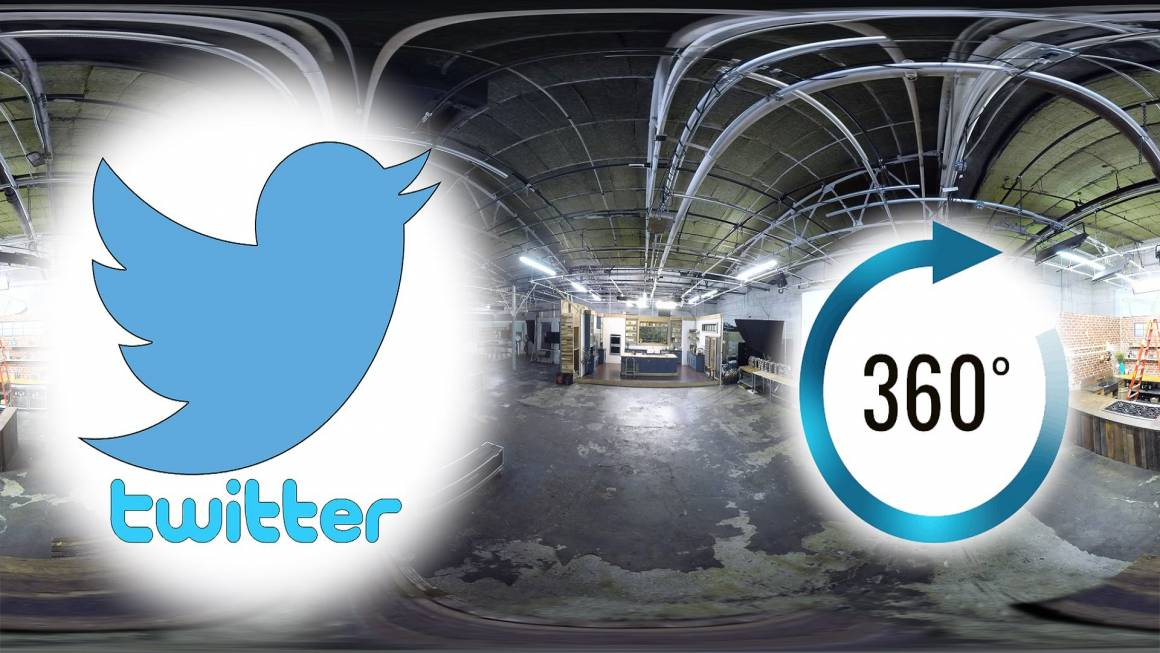 twitter 360 video 1160x653 - Twitter insegue Facebook con le dirette a 360 gradi