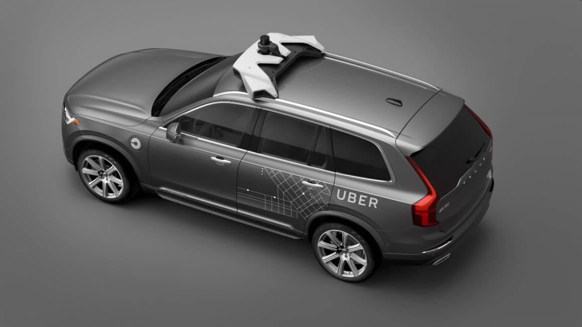 volvo uber 1160x653 - Uber, sospesi i test dei veicoli autonomi a San Francisco